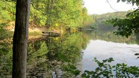 Nature européenne : paysage d'été Photos stock