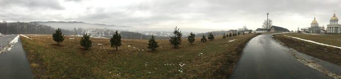 Nature extrêmement belle des Carpathiens Image libre de droits
