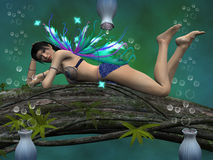 Nature fairy Royalty Free Stock Image