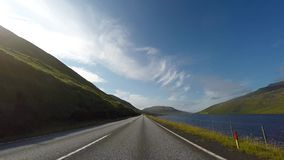 The nature of the Faroe Islands stock video footage