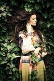 Nature and fashion Stock Image