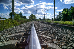 Nature ferroviaire Photo libre de droits
