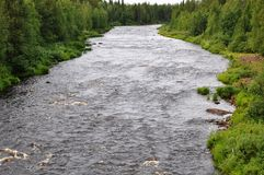 Nature. Finland is full of beautiful places and landscapes Royalty Free Stock Photo
