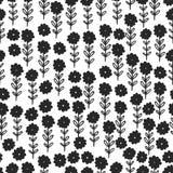 Nature flower pattern background Stock Photo