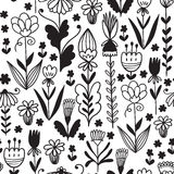 Nature flower pattern background Stock Images