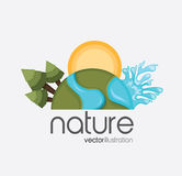 Nature forest design Stock Photography