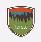 Nature forest design Royalty Free Stock Photo
