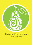 Nature fruit shop Stock Images