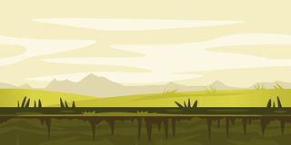 Nature Game Background Landscape Stock Photography