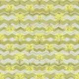 Nature Geometric Collage Seamless Pattern Stock Photo