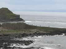 Nature of Giant`s Causeway royalty free stock images