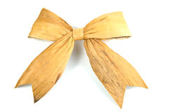 Nature gift bow Stock Photos