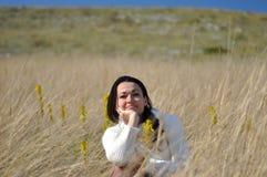 Nature girl Stock Image
