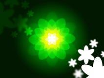 Nature Glow Represents Light Burst And Blazing Royalty Free Stock Photo