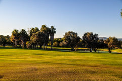 Nature. Great golf course in Mallorca Stock Photography