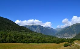 Nature of the Greater Caucasus. Photo taken on: July 27 Saturday, 2013 Stock Image