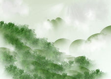Nature green background Royalty Free Stock Photo