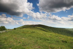 Nature. Green mountain landscape in the summer Royalty Free Stock Photos