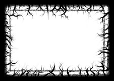 Nature grunge border Stock Images
