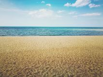 Nature. Gulf of Thailand, Pattani, Thailand royalty free stock photography