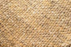 Nature handicraft weave pattern texture. Nature handicraft Brown weave pattern top view texture background Stock Photography