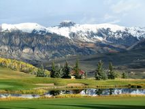 Nature, Highland, Mountainous Landforms, Grassland royalty free stock photos