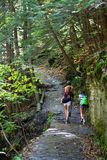 Nature Hike Royalty Free Stock Photos