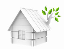 Nature house Royalty Free Stock Photo