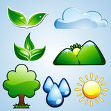 Nature Icon Royalty Free Stock Photo