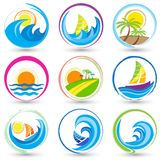 Nature Icon Stock Images