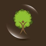 Nature icon. Nature design,  illustration eps10 graphic Stock Images
