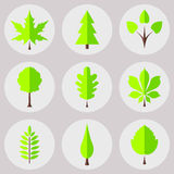 Nature icons Royalty Free Stock Photo