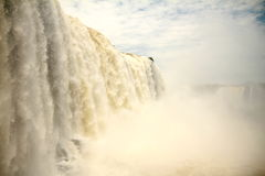 Nature of Iguazu Falls Royalty Free Stock Photos