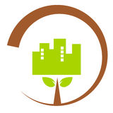 Nature industry symbol illustration Stock Photos