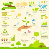 Nature Infographics Royalty Free Stock Photos