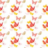 Nature insect pattern butterflies Stock Photos