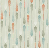 Nature Inspired Arrow Pattern. Seamless Vector background. Stock Photography