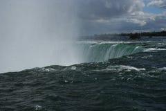 Niagara Falls w całej okazałości. Nature in its beauty and strength. Niagara Falls. Photos from traveling around Canada Royalty Free Stock Photography