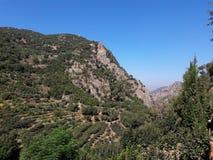 Nature. Kadisha lebanon  mountain Stock Photography