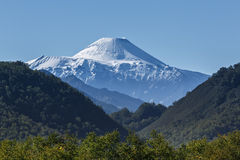 Nature of Kamchatka: summer view on Avachinsky Volcano Royalty Free Stock Image