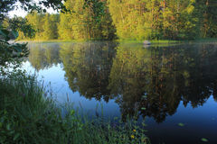 Nature of Karelia, Russia Stock Images
