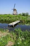 Nature at Kinderdijk Stock Photo