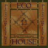 nature la maison d'eco Photographie stock libre de droits