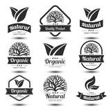 Nature label Royalty Free Stock Photography
