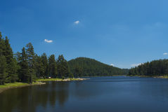 Nature lake Stock Image