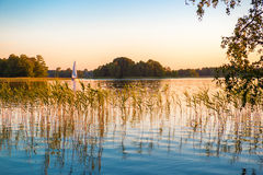 Nature lake Royalty Free Stock Photography