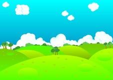 Nature Landscape Background Stock Photo