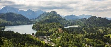 Nature landscape. Nature lanscape in Bavaria, Germany Stock Photo