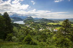 Nature landscape. Nature lanscape in Bavaria, Germany Royalty Free Stock Photos