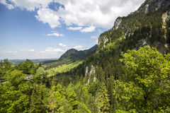 Nature landscape. Nature lanscape in Bavaria, Germany Royalty Free Stock Images